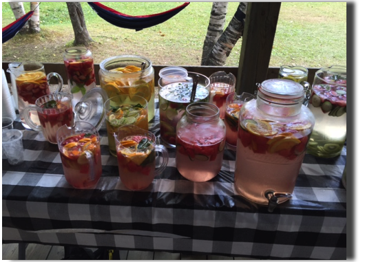 Fruit Infused Water Refreshment
